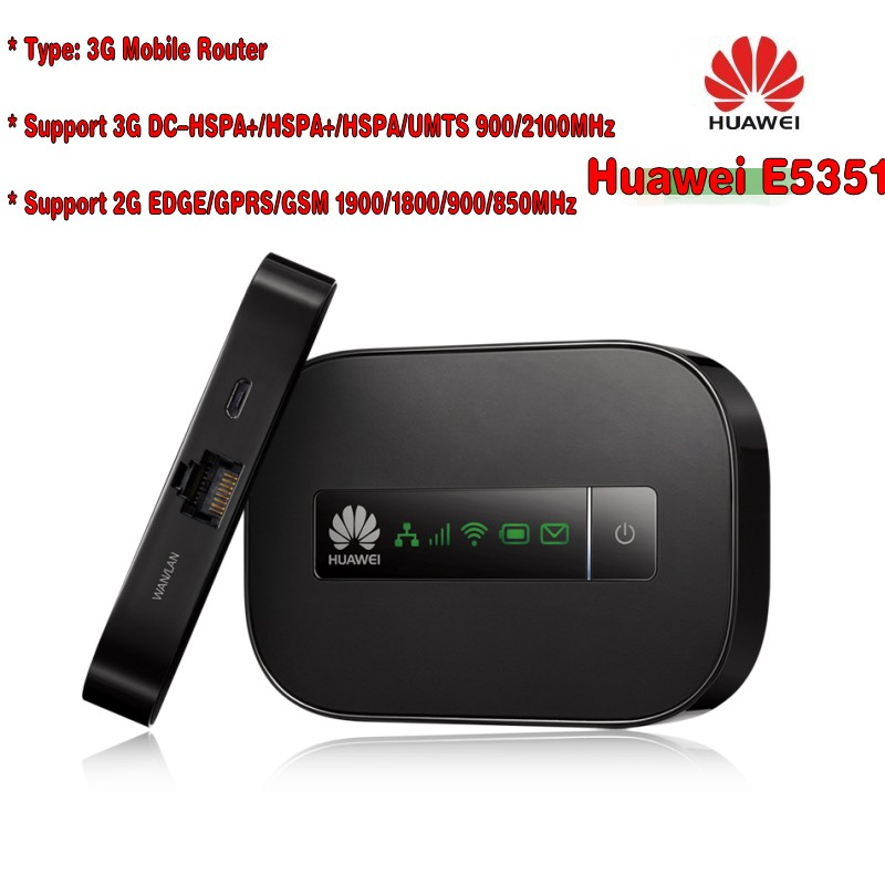 huawei wireless wifi router Huawei E5351 (with Lan port)