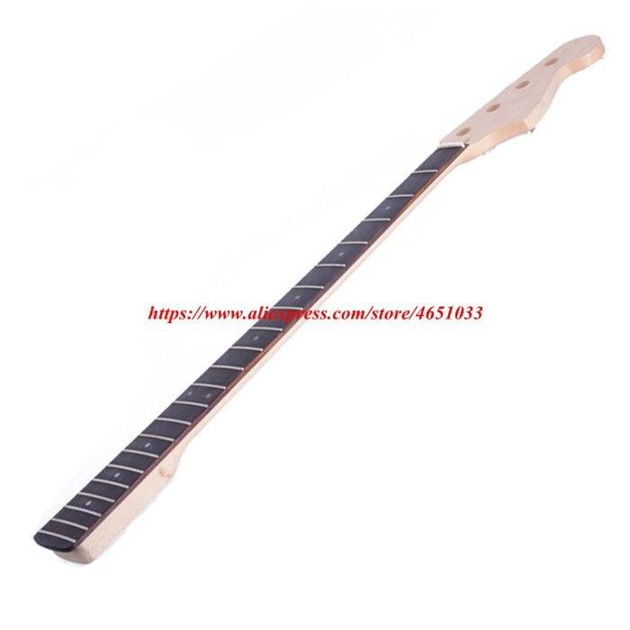 Accessoires de guitare pièces guitare électrique cou JB basse électrique érable xylophone cou palissandre touche, 21 Fret - 6