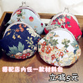 On Sale Diy Handmade Fabric Material kit 8.5cm Shell Bag Patchwork Coin Purses Metal Frame Wallets Cotton Canvas Needlework 2015
