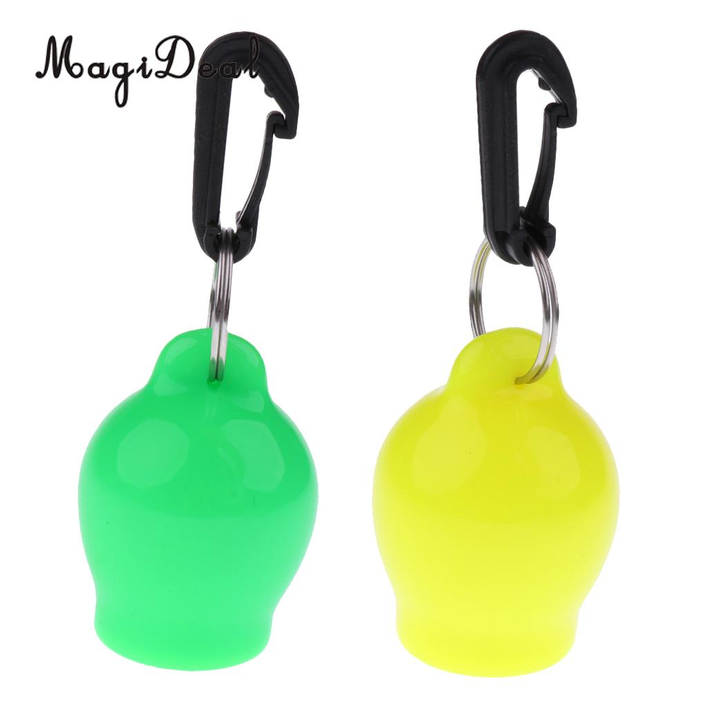 MagiDeal 2Pcs Scuba Dive Regulator Octopus Holder Retainer Mouthpiece Cover & Clip
