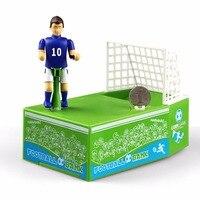 Nosii Man Akcja Skarbonka Monety Football Goal Śmieszne Dzieci Zabawki Box Zmiany Mocy Zapisywanie Money Box Case