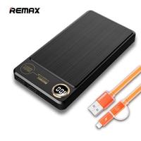 Remax 20000mah Power Bank 2 USB External Batteries Fast Charger Power Bank 20000 Mah Backup Battery
