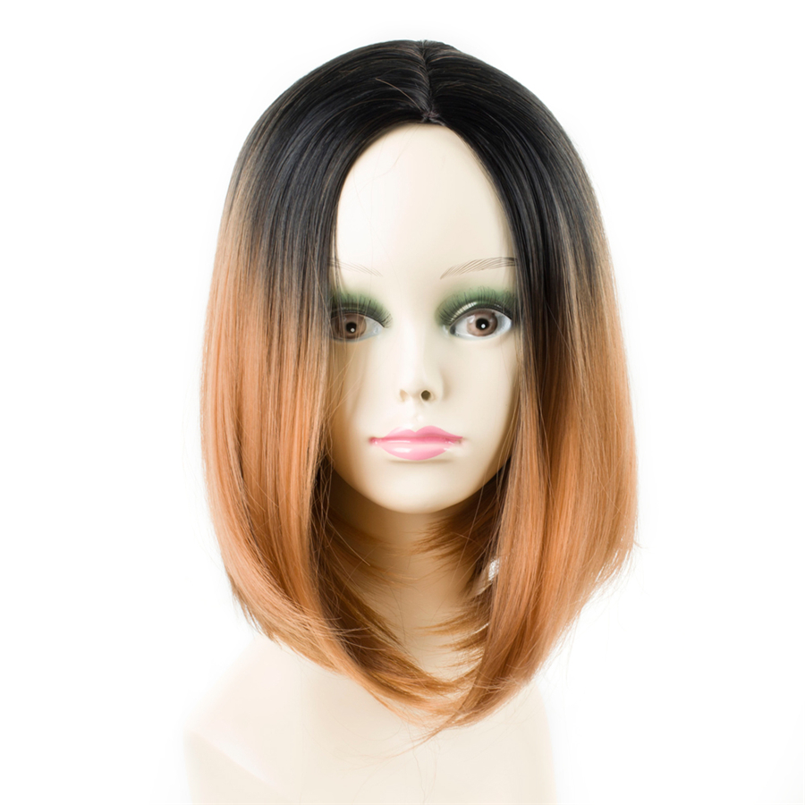 ELEGANT ΜΟΥΣΕΣ 10 ιντσών συνθετική Ombre - Συνθετικά μαλλιά - Φωτογραφία 1