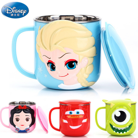 Baby Training Cup Stainless Steel Mugs For Kids Feeding Cup Infant Drinking Cup Water Bottle With Lid Kids Cup Copo De Bebes Pakistan