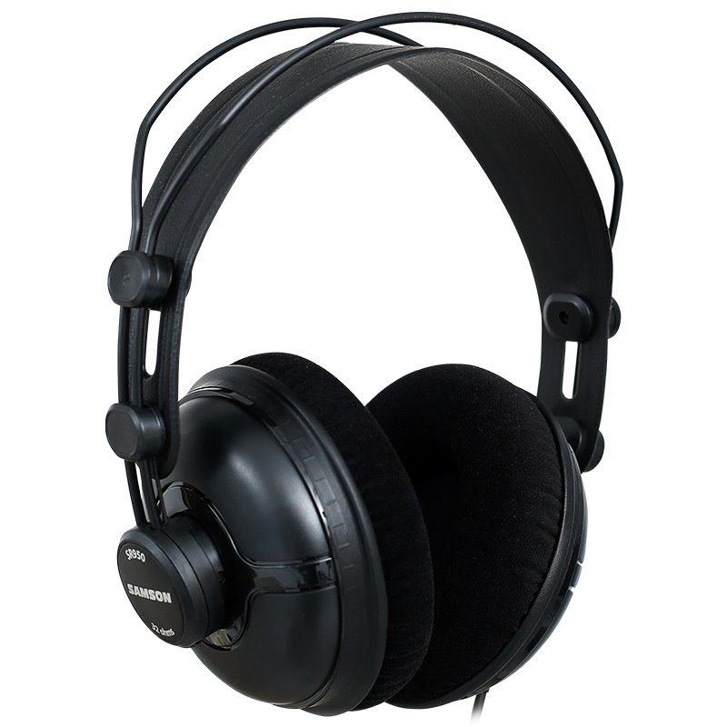 Original Samson SR950 Professional monitoring headphones fully closed type headset for studio recording