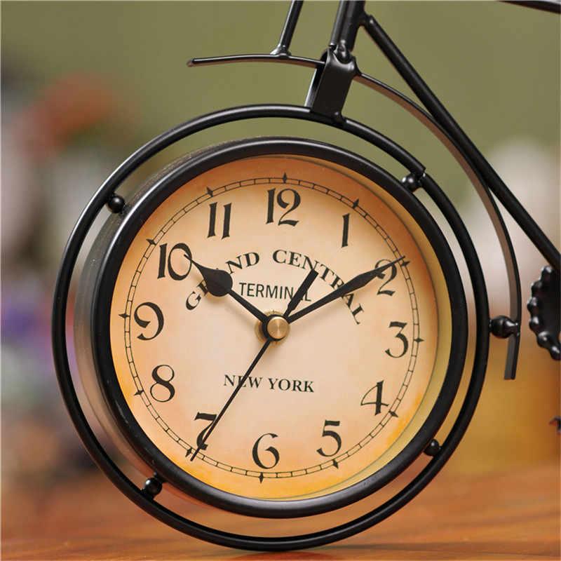 Новейшие креативные велосипедные часы Современный дизайн подвесные винтажные тихие часы декор большие часы украшения для рабочего стола часы