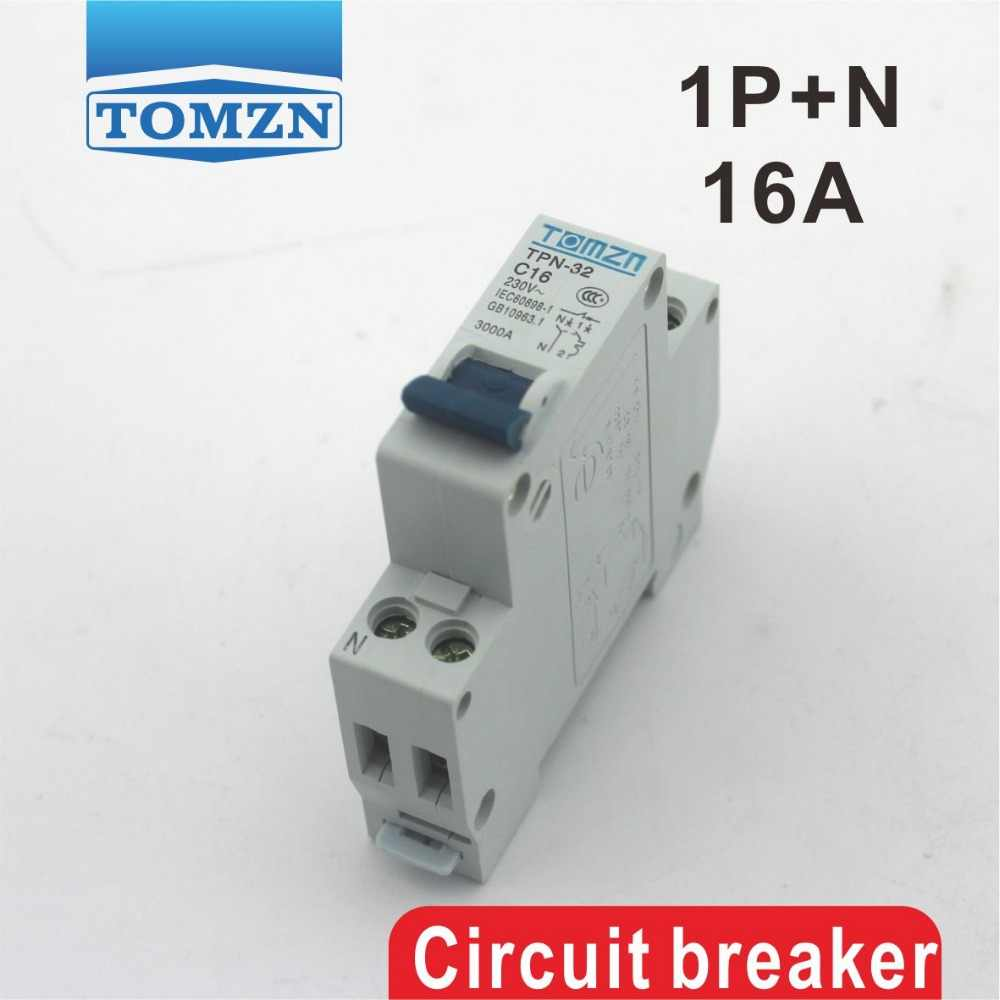 DPN 1P+N 16A Mini Circuit breaker MCB