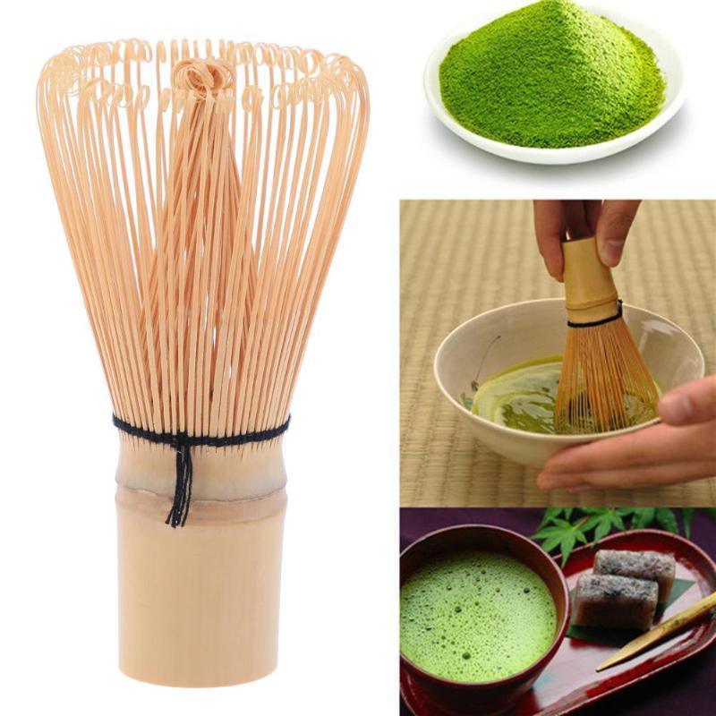 Té Verde Batidor de Polvo Handmade Bamboo Matcha Chasen Holder Scoop - Cocina, comedor y bar