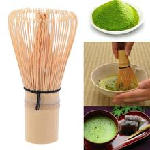 Zielona herbata Powder Whisk Handicrafted Bamboo Matcha Chasen Holder Scoop Long Handle Useful Brush Tools Akcesoria kuchenne