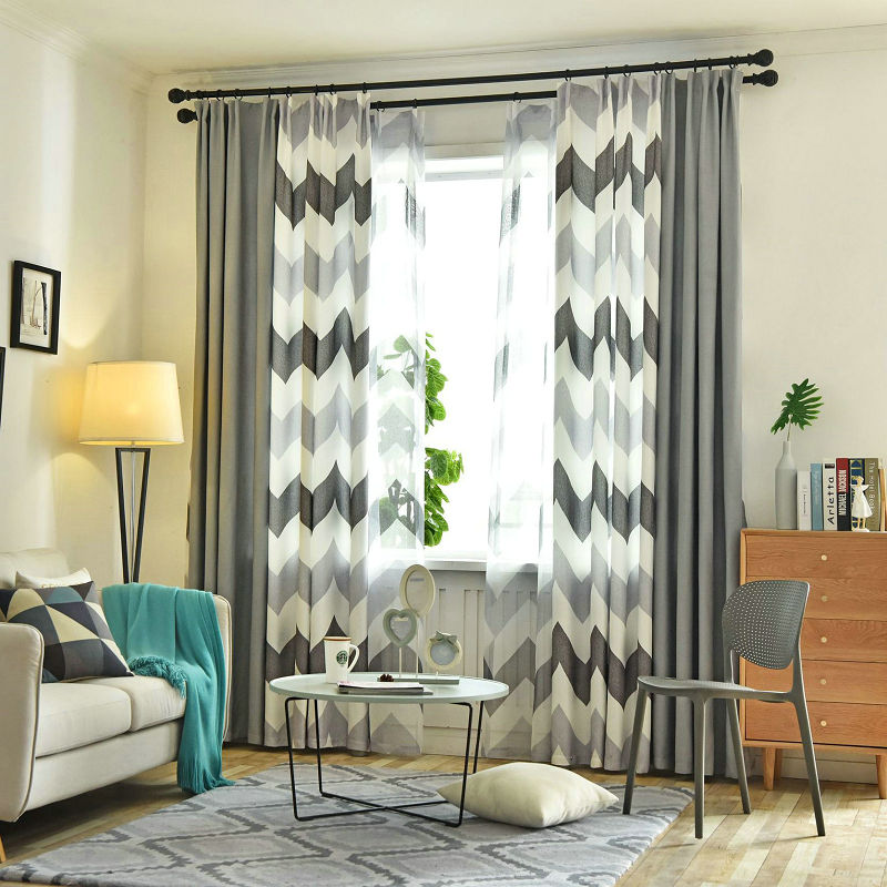 Curtains For Bedroom Living Room Nordic Style Blackout Curtains Simple Modern Children Cortinas Para Sala De Estar