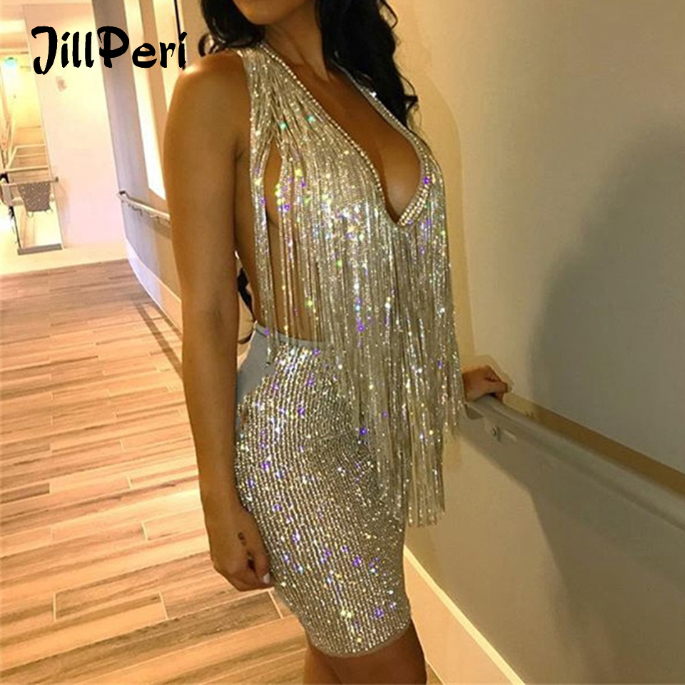 Feather Sequin Two Piece Set Co Ord Party Crop Top Mini Shorts 3 Colours S-XL