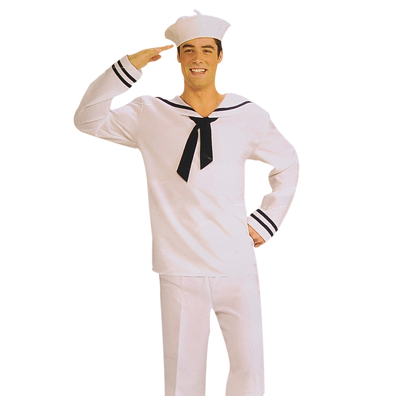 Adults Halloween Costumes Sailor Boys Costume Carnaval Cosplay Halloween Party Costume for Children Party Clothes Suit