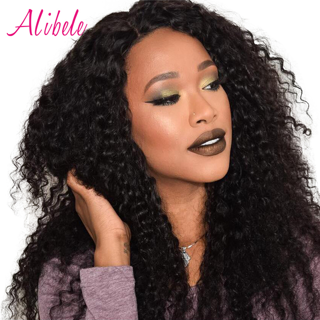 Alibele Malaysian Curly Hair 4 Bundles Deals Deep Human Weaves 400g Remy