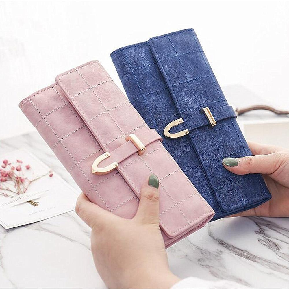 Kvinnor plånbok med kreditkortsinnehavare Telefonhållare Mode - Plånböcker - Foto 4