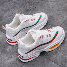 2019 Men Sneakers Increasing Thick Sole Causal Shoes Men Fashion Sneakers White Sneakers Male Shoes Outdoor Men Vulcanized Shoes