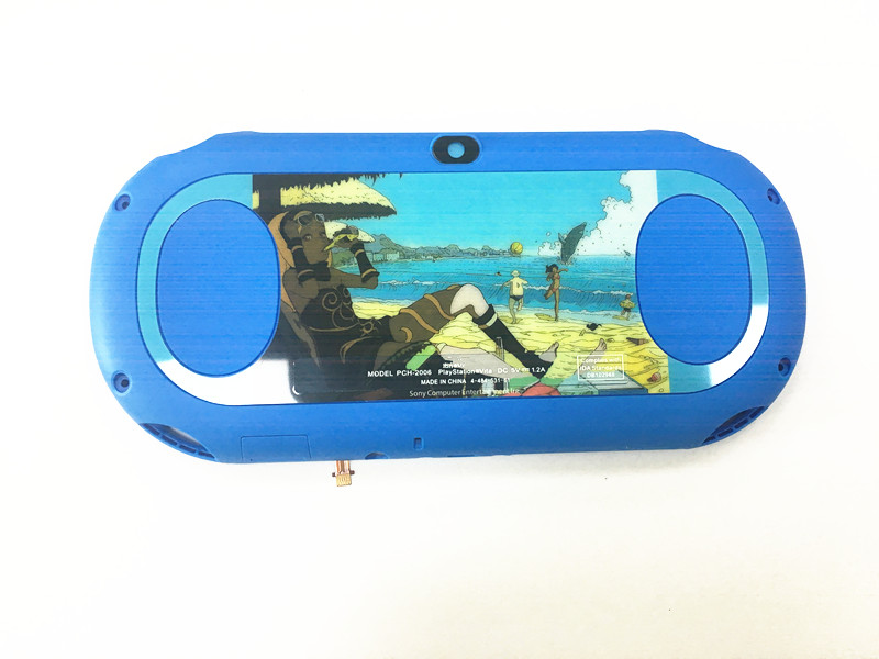 5Pcs/Lot New Limited Edtion Color Back Shell Case Cover For PSVita PS Vita PSV2000 Console Replacement Parts & Accessories     - title=