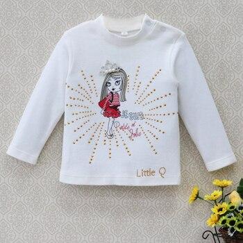 2018 Baby clothes girls kidswear Blouse children t shirt spring newborn Jumper tops infant pure cotton soft long sleeve shirts 1