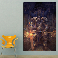 World Of Warcrafts Meditation Wall Art Canvas Painting Poster Prints Modern Painting Wall Picture For Living Room Home Decor Art