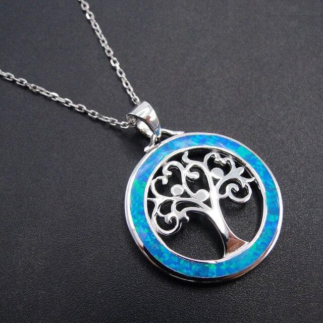925 sterling silver jewelry daily wear women tree of life pendants 925 sterling silver jewelry daily wear women tree of life pendants blue fire opal pendant silver aloadofball Gallery