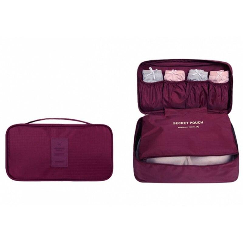 2018 Women's Bra Underwear Travel Bag Suitcase Organizer Women Cosmetic Bag Luggage Organizer for Lingerie Makeup Organizer bags