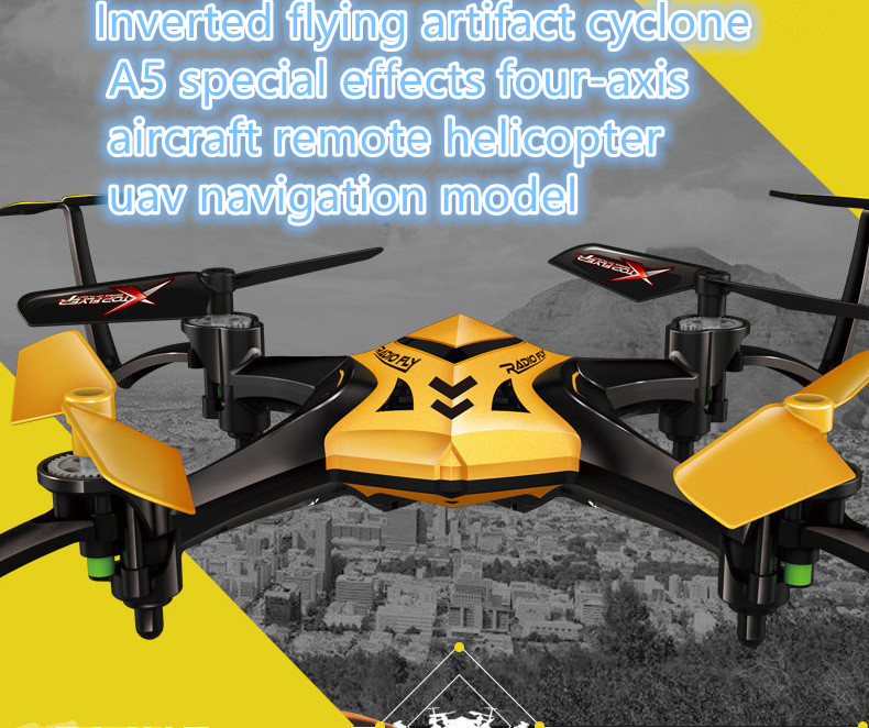 Mini Drones YD-A5 Two Dided Upside Down Flight Infinite Rotating Rc Quadcopter Inverted stunt rc drone 3D invert flight toy gift flight volume two