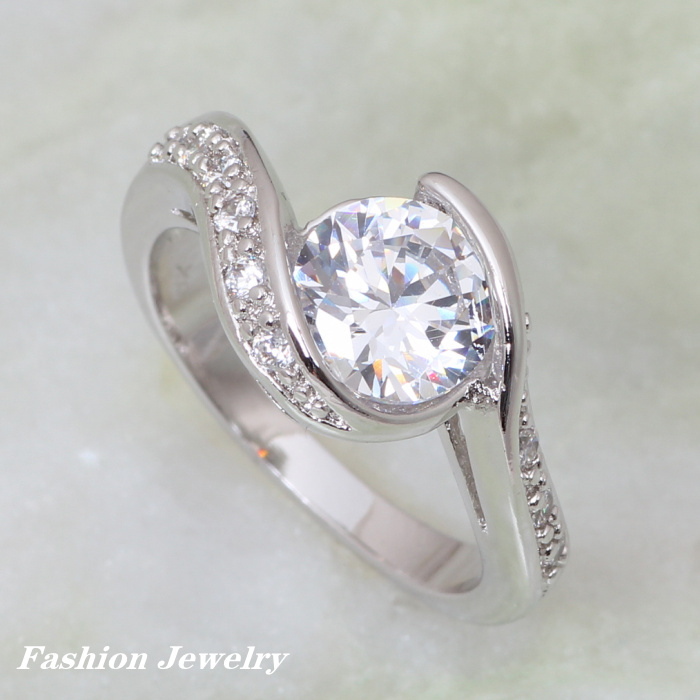 Brand designer Fashion wedding rings for women 2017 Swiss ...