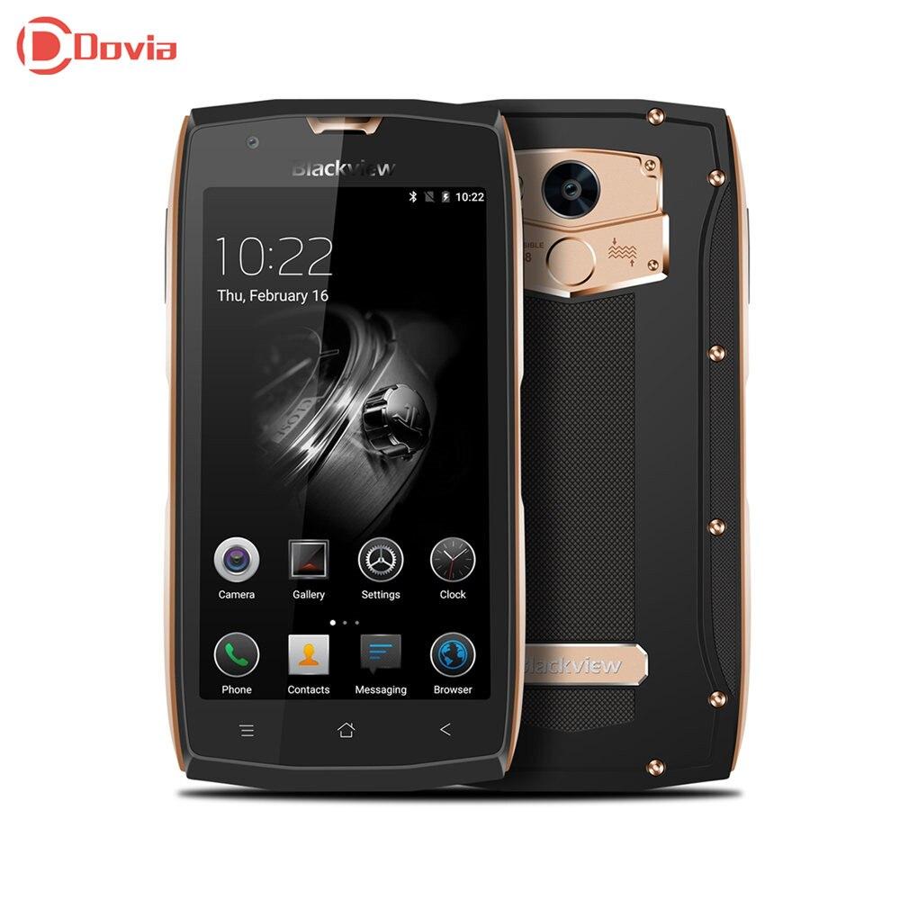 Blackview BV7000 4g Smartphone 5,0 zoll Android 7.0 MTK6737T Quad Core 2 gb RAM 16 gb ROM Fingerprint Scanner NFC OTG Handy