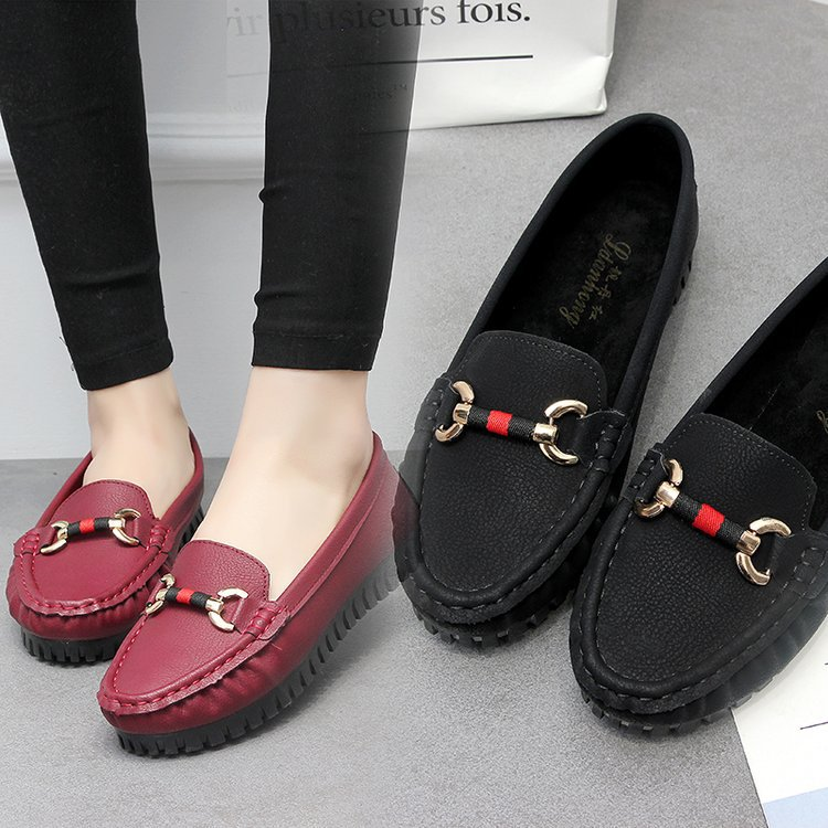 women flats genuine leather ballet flats mother shoes slip on round toe ballerina flats loafers for women moccasins 6688 qmn women genuine leather ballet flats women patent leather round toe slip on leisure shoes woman cute leather flats