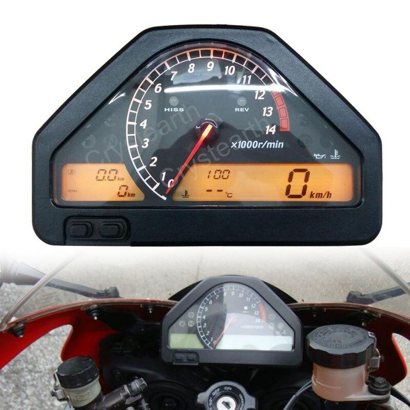 Мотоцикл Спидометр Инструмент измерительные приборы кластер одометр тахометр в сборе для Honda CBR1000RR CBR 1000RR 2004 2005 2006 2007