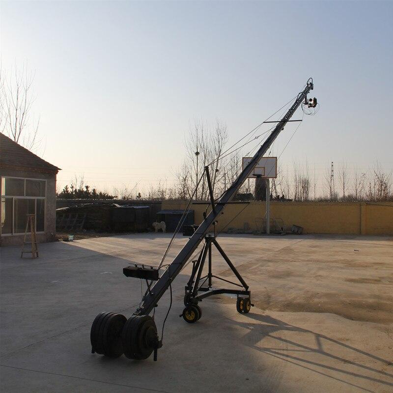 8 m 2 axes jimmy potence grue pour avec tête hollandaise motorisée chargement 16 kg