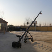 8m 3 axis jimmy jib crane for with motorized dutch head loading 16kg