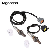 2Pcs Upstream Downstream O2 Oxygen Sensors For 2003-1999 Mazda Protege L4-1.6L High-performance SG1082 SG1849, 234-4121 234-4142