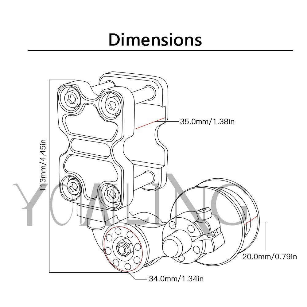adjustable aluminum chain tensioner bolt on roller motorcycle Dodge R15 adjustable aluminum chain tensioner bolt on roller motorcycle chopper dirt bike for kawasaki honda suzuki bmw yamaha r1 r3 r6 mt in covers ornamental