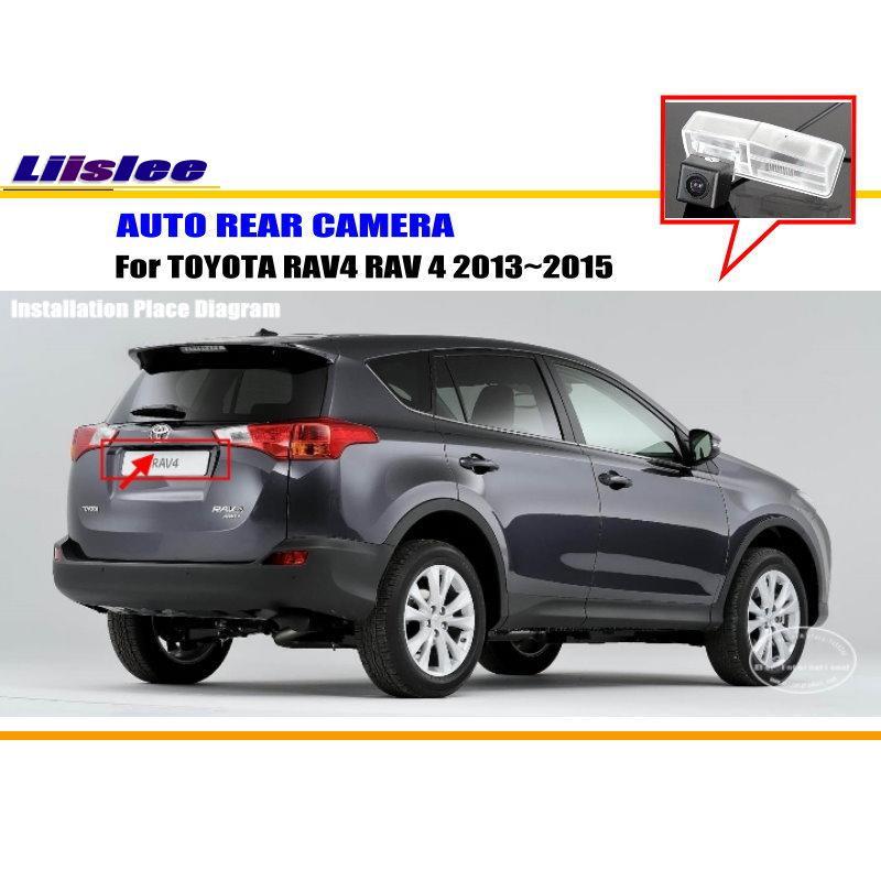 Liislee For TOYOTA RAV4 RAV 4 2013~2015 / Rear View Camera / Backup Parking Camera / CCD ...