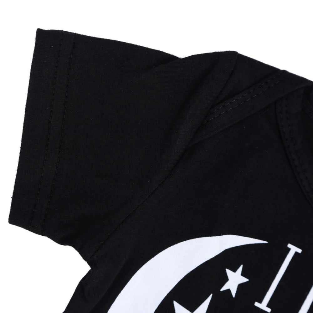 Новый летний детский комбинезон для новорожденных, черная одежда для маленьких девочек, одежда для сна с короткими рукавами, 100% хлопок, детская одежда унисекс, Jumell