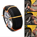 10 PCS/Lot Car Emergency Traction Aid Snow chain Life Safety Aid Wheel Slip Chain In Mud For Car Motorcycle Truck SUV