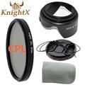 KnightX camera filter FLD UV CPL MCUV Star Kit for Nikon Canon EOS 1100D 1000D 600D 550D 500D Pentax Sony dslr t3i t5i t5 52 58