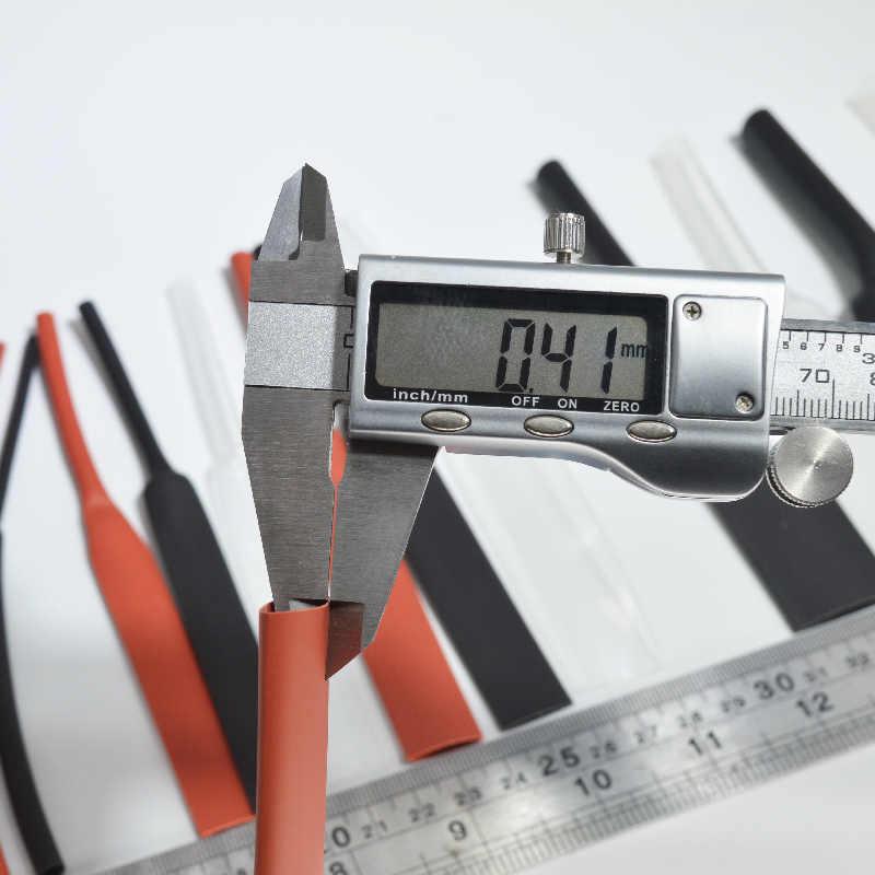 Hifi كابل الحرارة يتقلص أنابيب العزل أنبوبة قابلة للانكماش تشكيلة الإلكترونية البولي أوليفين سلك كابل كم عدة الحرارة يتقلص أنبوب