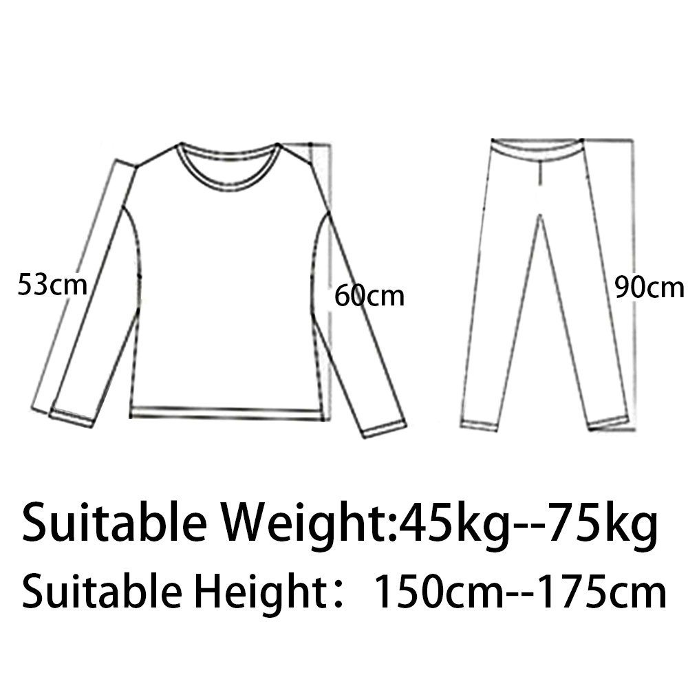 2pcs Suit Slim Ladies Underwear Thermal Bottoms Solid Color Bottoming Shirt Thin Round Neck Women Thermal Underwears Tops Pants