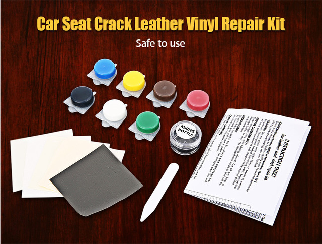 Promotion! Auto Car Seat Sofa Crack Rip No Heat Liquid Leather Vinyl ...