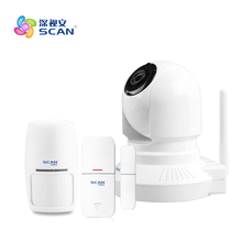 Daytech Home Security IP Camera Wireless WiFi Surveillance 720P Night Vision CCTV Baby Monitor PTZ380-3.6HD