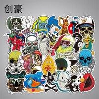 200 Pz Stile Classico Anime Super Eroe Divertente Graffiti Bambini Della Decalcomania Del Vinile Autoadesivo DIY Impermeabile Giocattolo