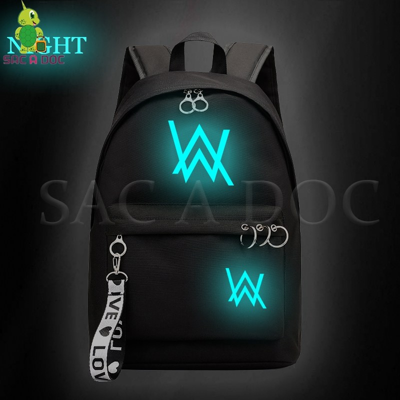 Fashion Alan Walker Luminous Daily Backpack School Bags for Girls College Students Laptop Backpack Casual Rucksack Travel BagsFashion Alan Walker Luminous Daily Backpack School Bags for Girls College Students Laptop Backpack Casual Rucksack Travel Bags