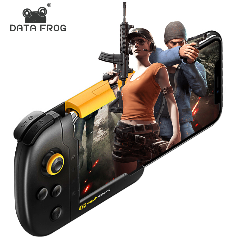 Data Frog Gaming Controller For IPhone IOS GamePad For Official PUBG Game Joystick For Iphone 6