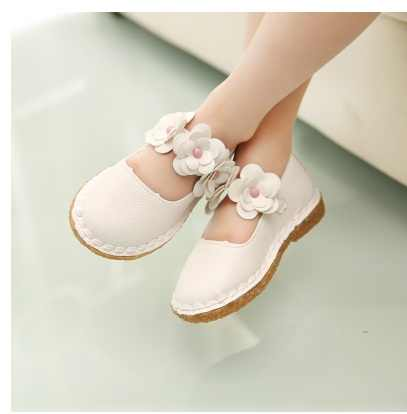 Children Princess Shoes 2017 Brand Spring Summer Girls Shoes Baby Kids Leather Shoes for Girls Sandals Baby Girl Dancing Shoes