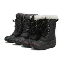 Factory wholesale suitable for children aged 4 16 years old fashion casual waterproof warm and comfortable boys snow boots