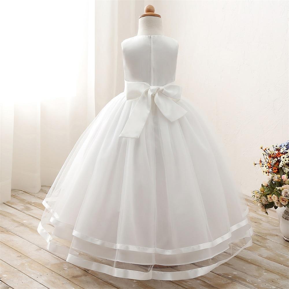 Weiß Taufe Hochzeit Kinder Kleider für Mädchen Kleidung Kinder ...