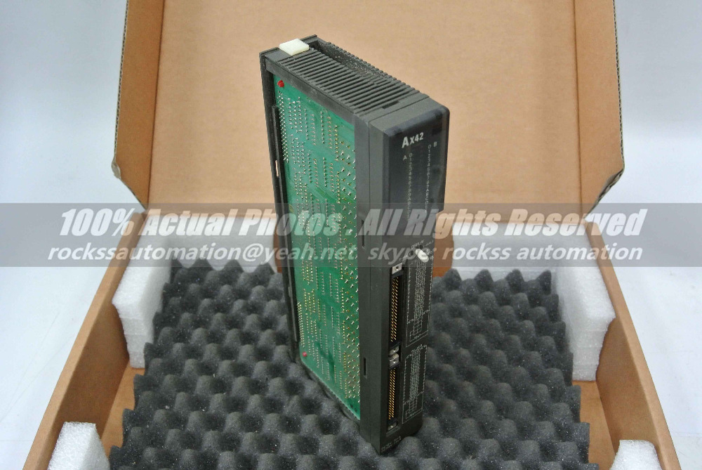 AX42 Used In Good Condition With Free DHL / EMS 1761 l16awa ab plc used in good condition