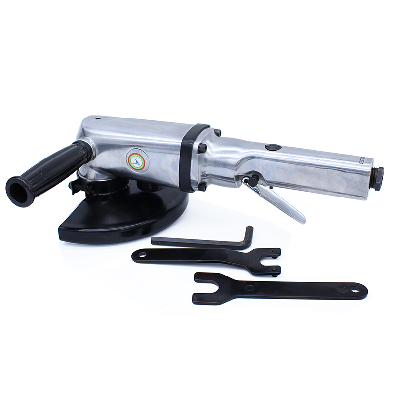 YOUSAILING Quality 7 inches Heavy Industrial  Pneumatic Angle Grinder Air Polish Machine Sander  Tool 5 inch air sander pneumatic polishing machine high quality