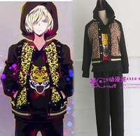 YURI!!! on ICE Plisetsky Yuri Custom Uniform Jacket Pant sports jersey uniform tiger whole set Costume